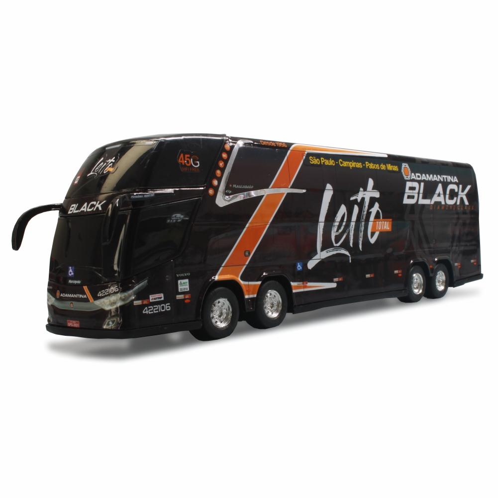 Ônibus Miniatura Expresso Adamantina Black Leito Total DD