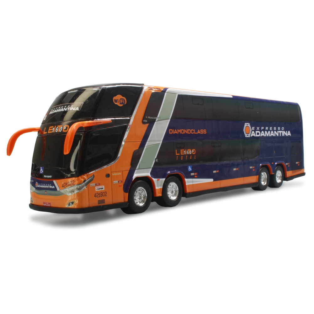 Ônibus Miniatura Expresso Adamantina DD