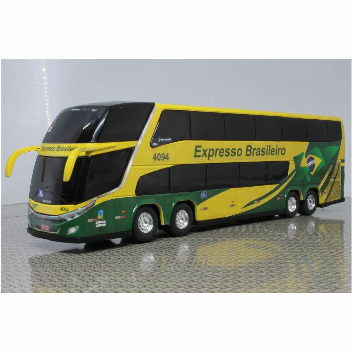 Ônibus Miniatura Expresso Brasileiro DD