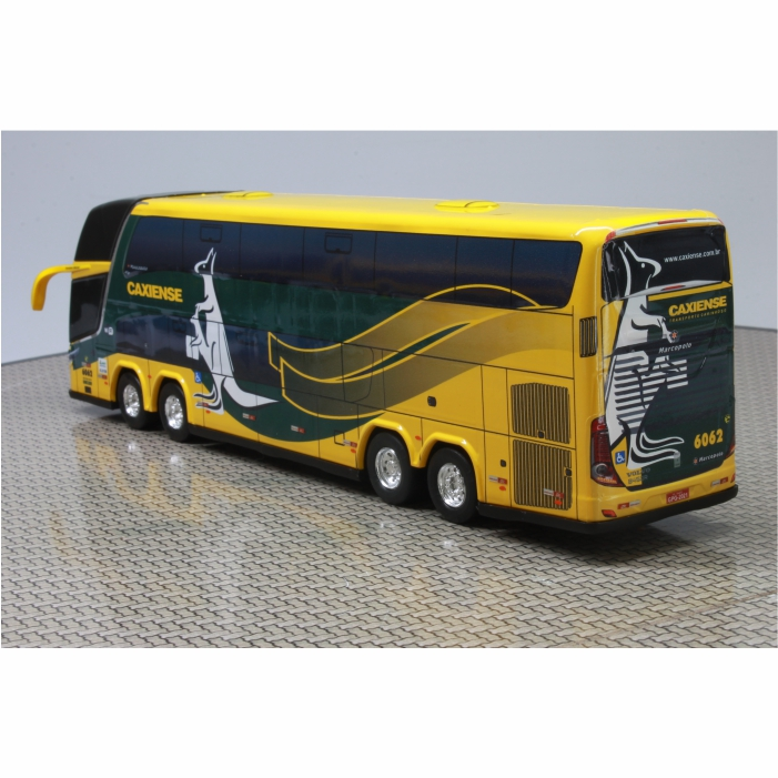 Ônibus Miniatura Expresso Caxiense DD