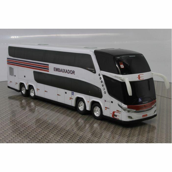 Ônibus Miniatura Expresso Embaixador Dd 4 Eixos