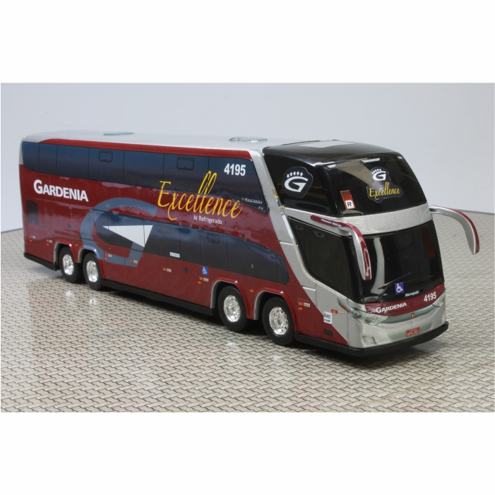 Ônibus Miniatura Expresso Gardenia Confort Bus DD