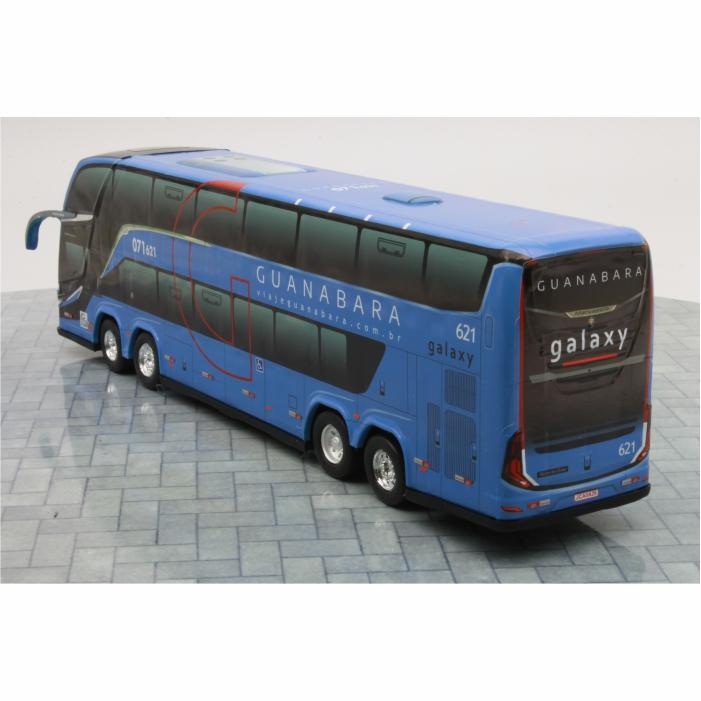 Ônibus Miniatura Expresso Guanabara DD G8 Lançamento