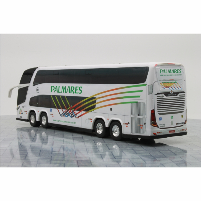 Ônibus Miniatura Expresso Palmares DD
