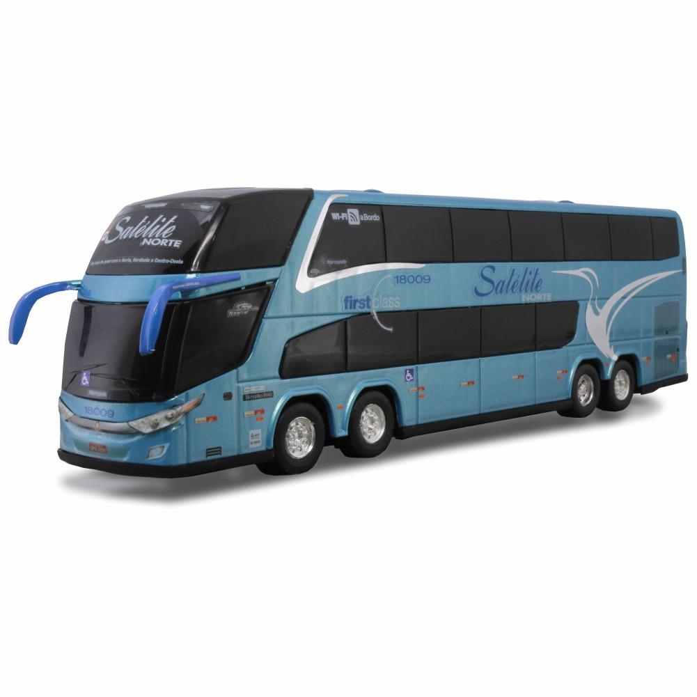 Ônibus Miniatura Expresso Satélite Norte DD New G7