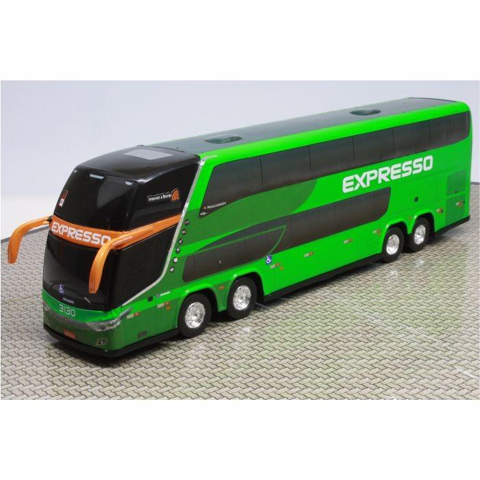Ônibus Miniatura Expresso Transporte E Turismo DD