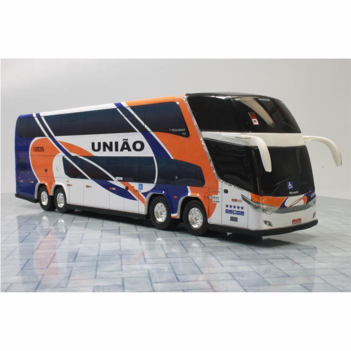 Ônibus Miniatura Expresso União Antigo DD