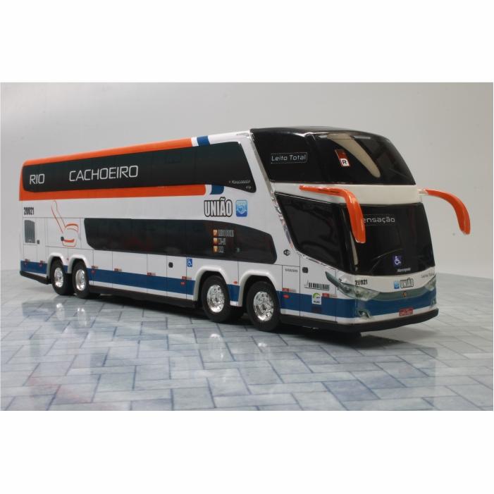 Ônibus Miniatura Expresso União Leito Total DD