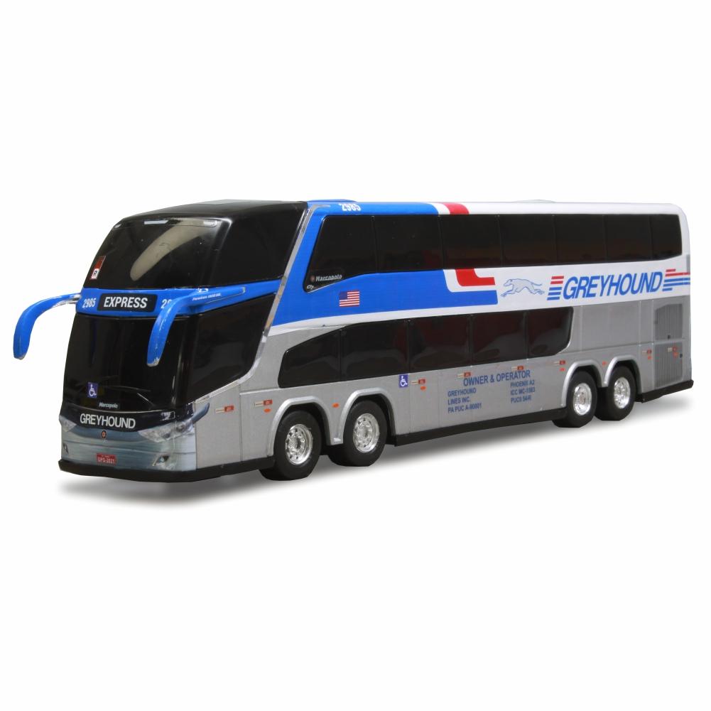 Ônibus Miniatura Greyhound DD