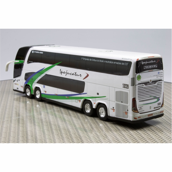 Ônibus Miniatura Ipojucatur Transportes E Turismo DD