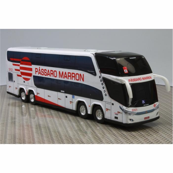 Ônibus Miniatura Pássaro Marron DD