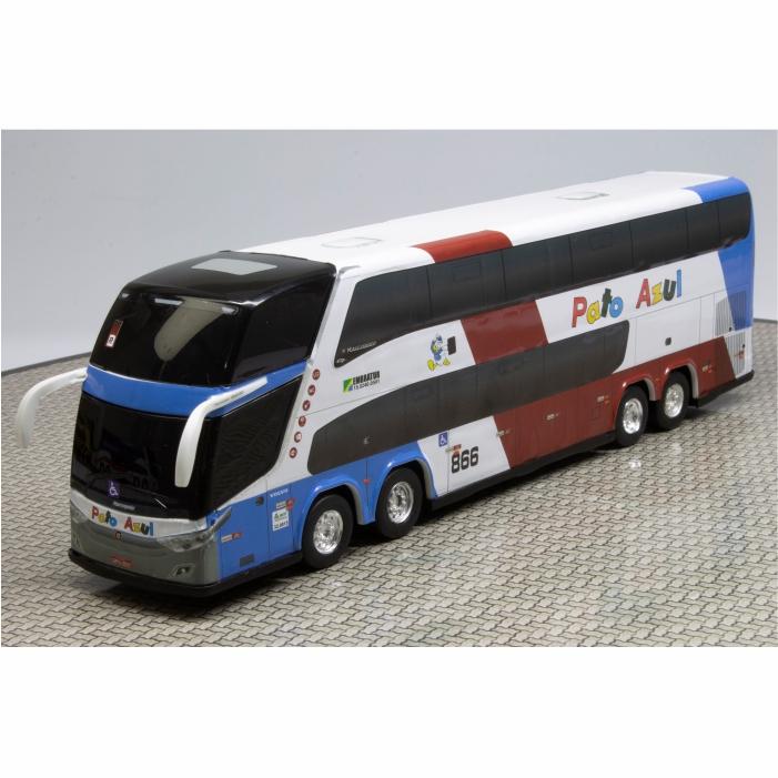 Ônibus Miniatura Pato Azul Turismo DD