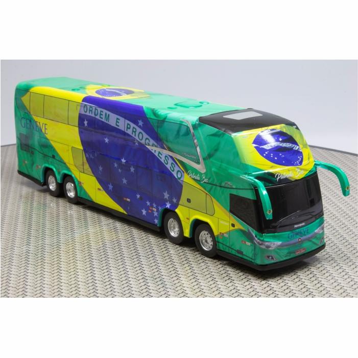 Ônibus Miniatura Patriota Geneve Turismo Havan