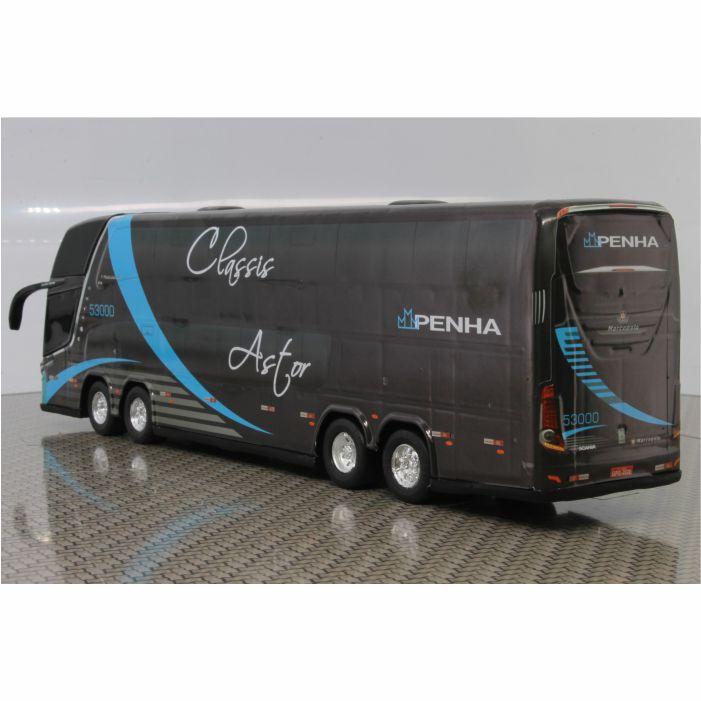 Ônibus Miniatura Penha Classis Dd 4 Eixos