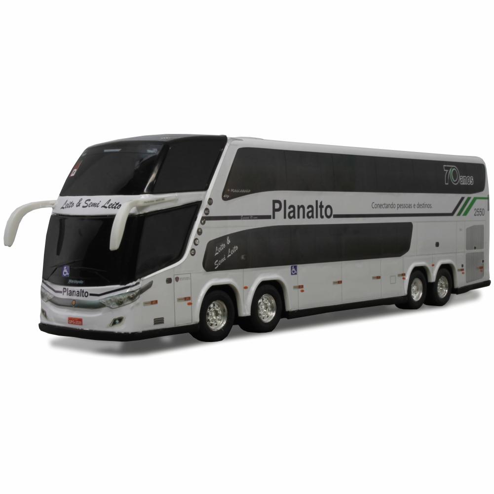 Ônibus Miniatura Planalto Transportes 70 Anos DD