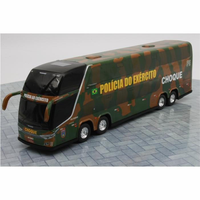 Ônibus Miniatura Polícia Do Exército Brasileiro Choque