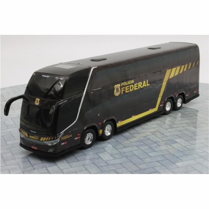 Ônibus Miniatura Polícia Federal DD