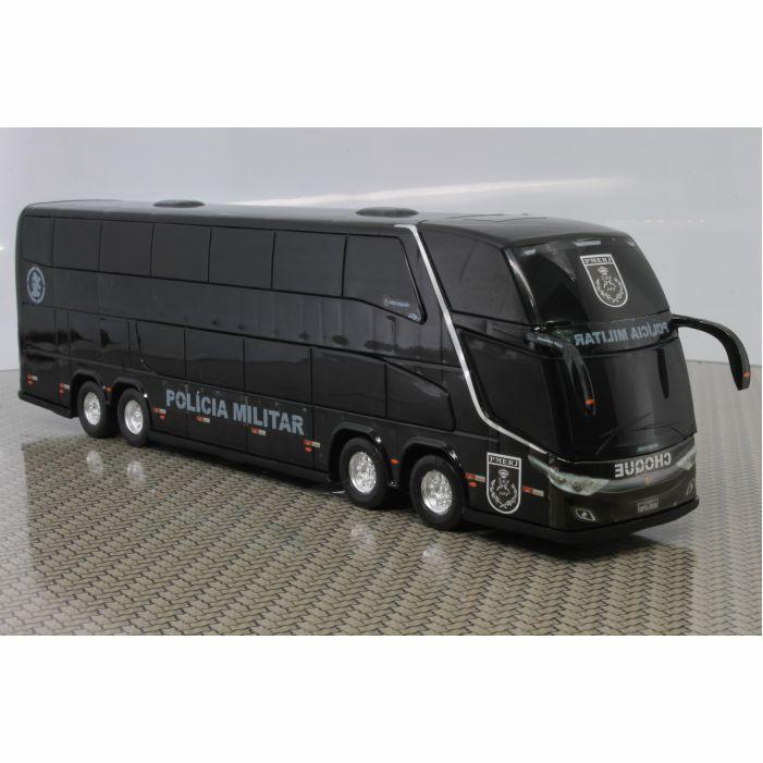 Ônibus Miniatura Polícia Militar Batalhão de Choque DD