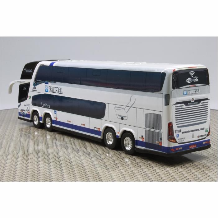 Ônibus Miniatura Princesa do Norte New G7 DD