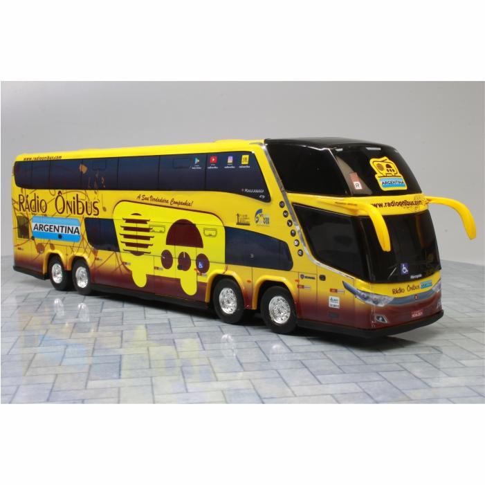 Ônibus Miniatura Rádio Ônibus Argentina DD