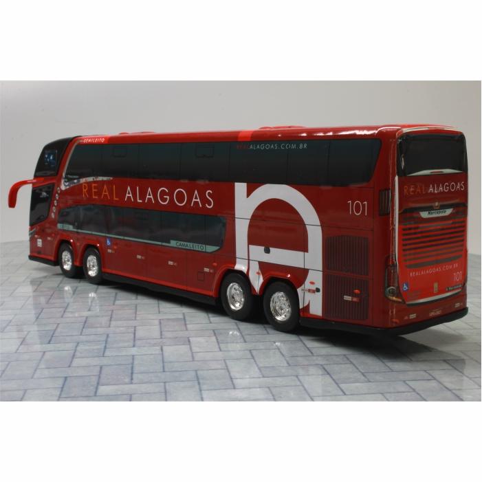 Ônibus Miniatura Real Alagoas New G7 DD