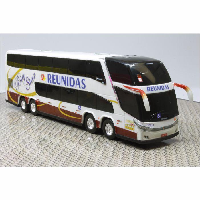 Ônibus Miniatura Reunidas Paulista Big Star Antigo DD