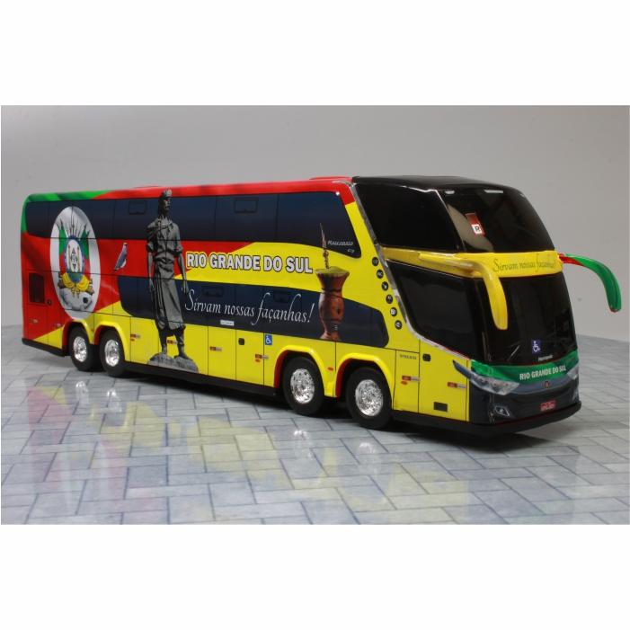 Ônibus Miniatura Estado Rio Grande Do Sul Coleção DD