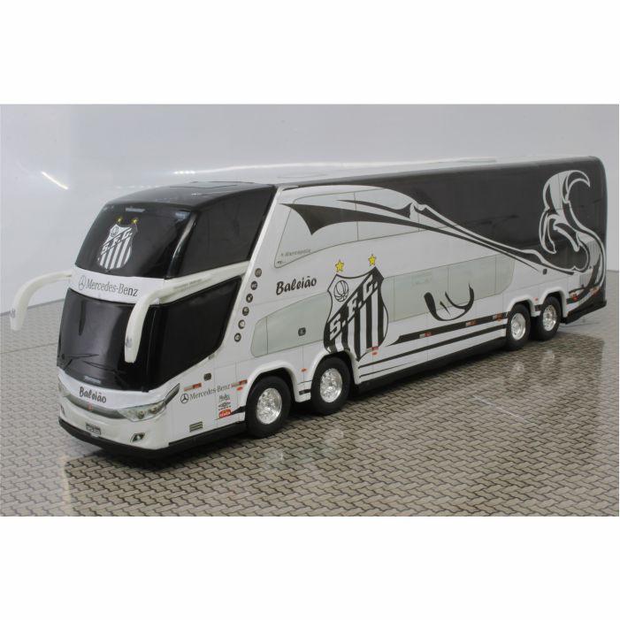 Ônibus Miniatura Santos Futebol Clube