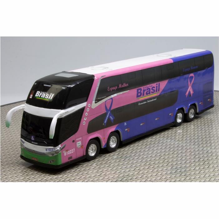 Ônibus Miniatura Trans Brasil DD New G7