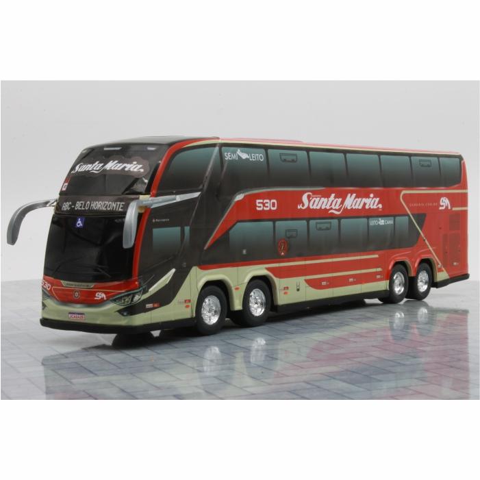 Ônibus Miniatura Transportes Santa Maria Fretamento e Turismo DD G8 Lançamento