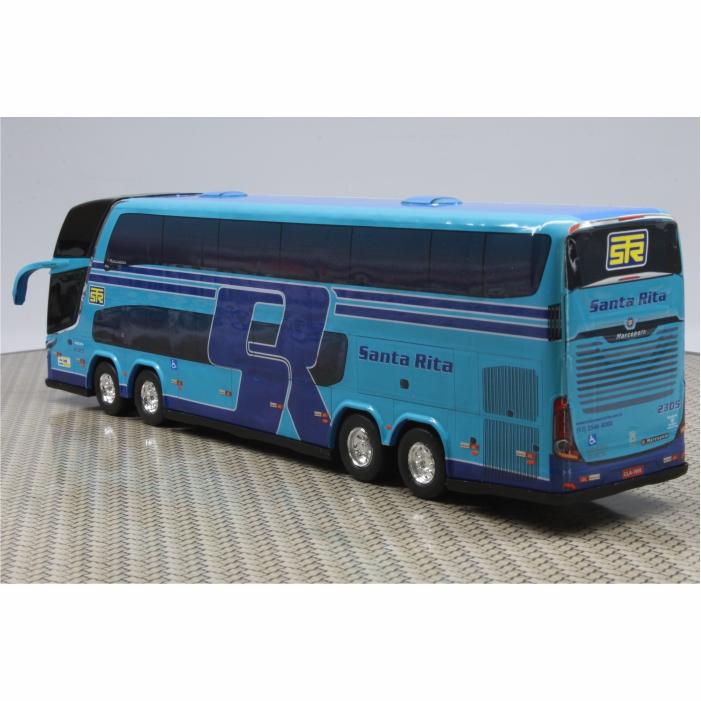 Ônibus Miniatura Turismo Santa Rita DD
