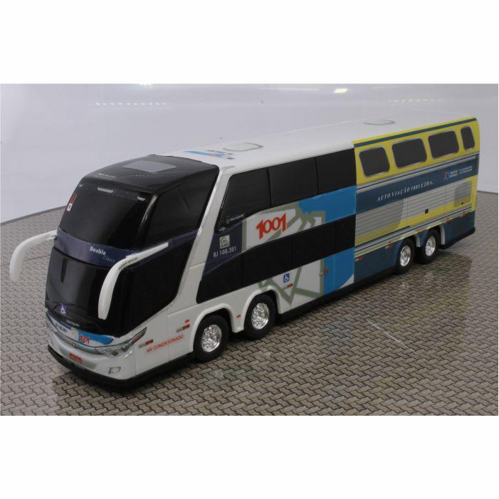 Ônibus Miniatura Viação 1001 DD 70 Anos