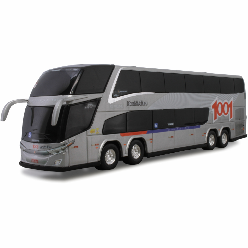Ônibus Miniatura Viação 1001 DD New G7