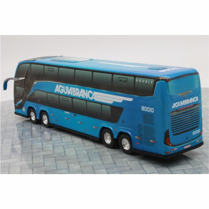 Ônibus Miniatura Viação Águia Branca DD G8 Lançamento