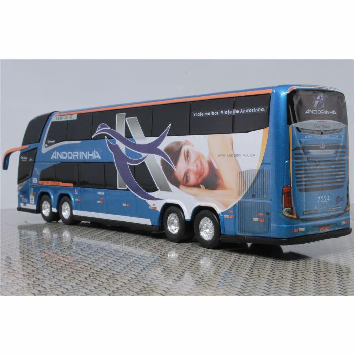 Ônibus Miniatura Viação Andorinha DD New G7