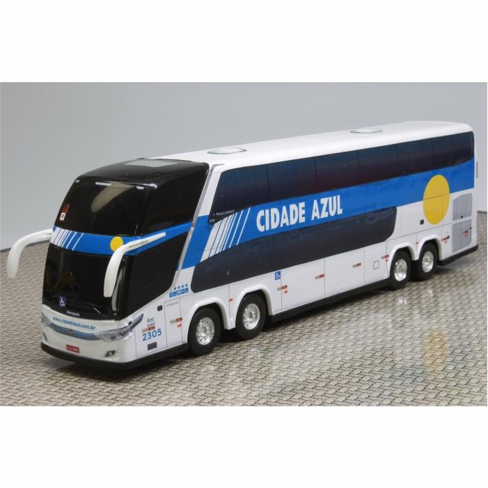 Ônibus Miniatura Viação Cidade Azul DD