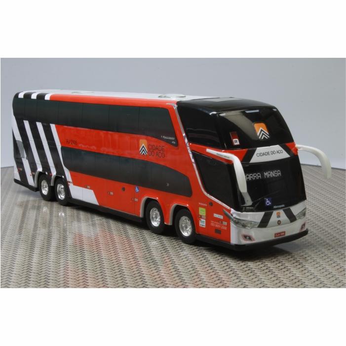 Ônibus Miniatura Viação Cidade Do Aço DD