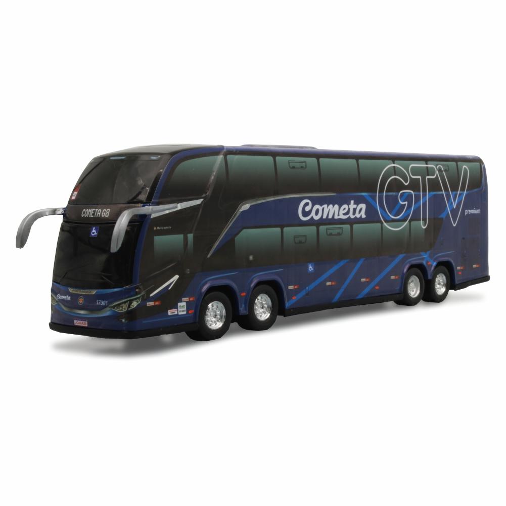 Ônibus Miniatura Viação Cometa DD G8 Lançamento