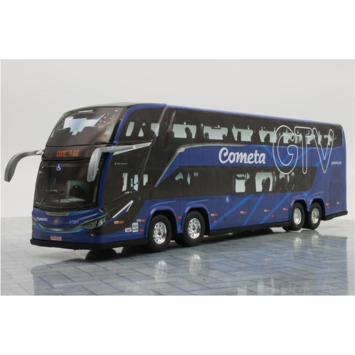 Ônibus Miniatura Viação Cometa GTV DD G8 Lançamento