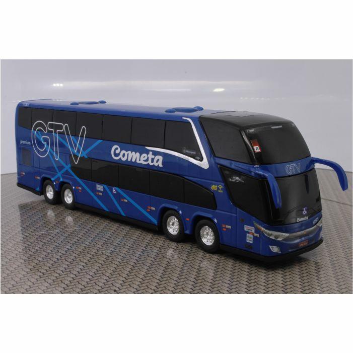 Ônibus Miniatura Viação Cometa GTV DD New G7