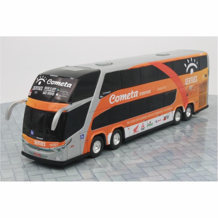 Ônibus Miniatura Viação Cometa Rally Dos Sertões DD