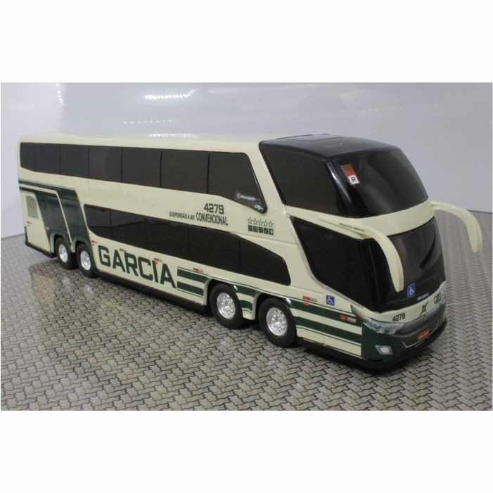 Ônibus Miniatura Viação Garcia Antigo DD