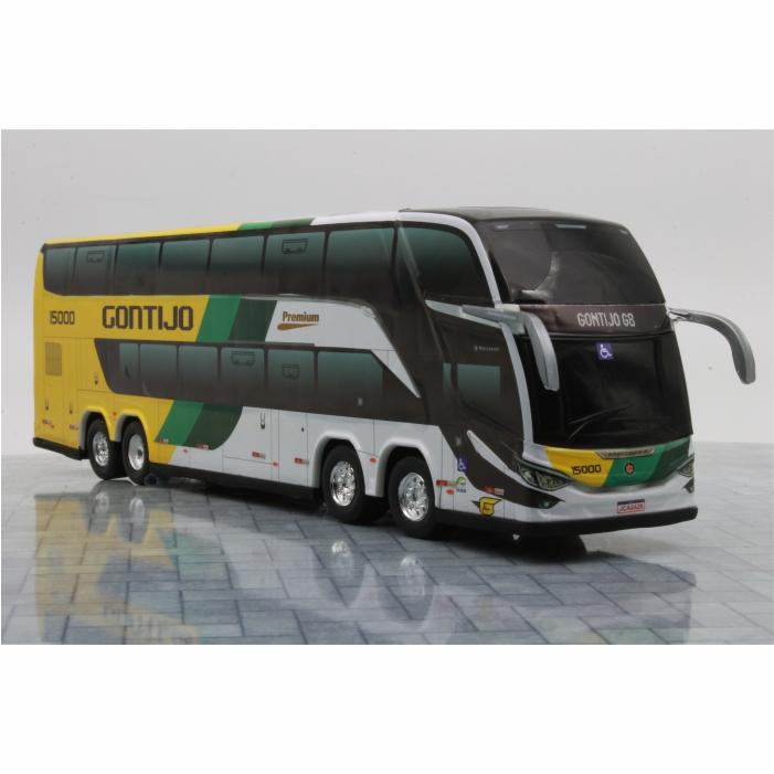 Ônibus Miniatura Viação Gontijo DD G8 Lançamento