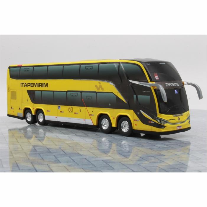 Ônibus Miniatura Viação Itapemirim DD G8 Lançamento