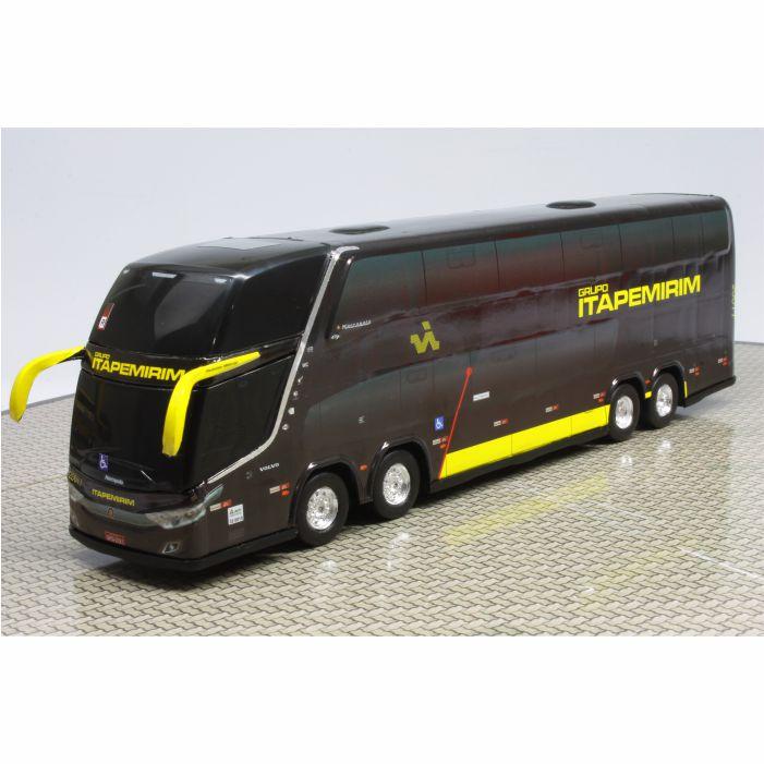 Ônibus Miniatura Viação Itapemirim DD Lançamento