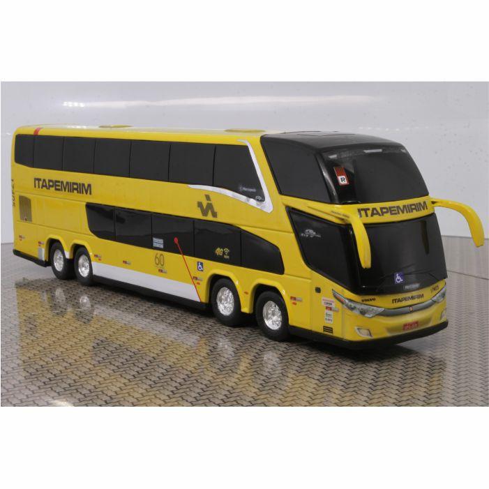 Ônibus Miniatura Viação Itapemirim DD New G7