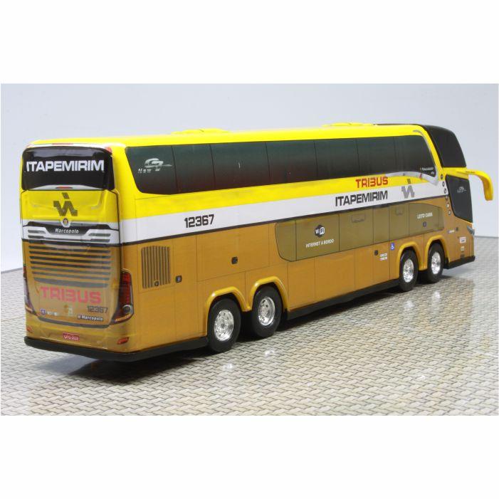 Ônibus Miniatura Viação Itapemirim Tribus DD