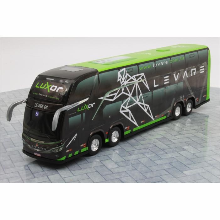 Ônibus Miniatura Viação Levare DD G8 Lançamento