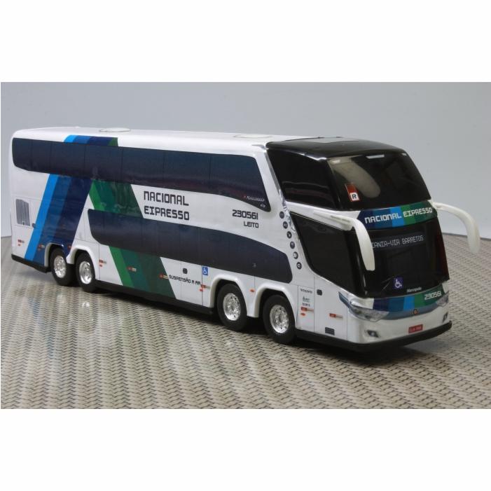 Ônibus Miniatura Viação Nacional Expresso DD