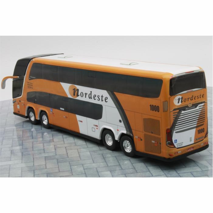 Ônibus Miniatura Viação Nordeste DD Antigo